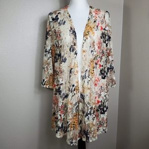 Est. 1946 Kimono  Floral  Sz. M (W)